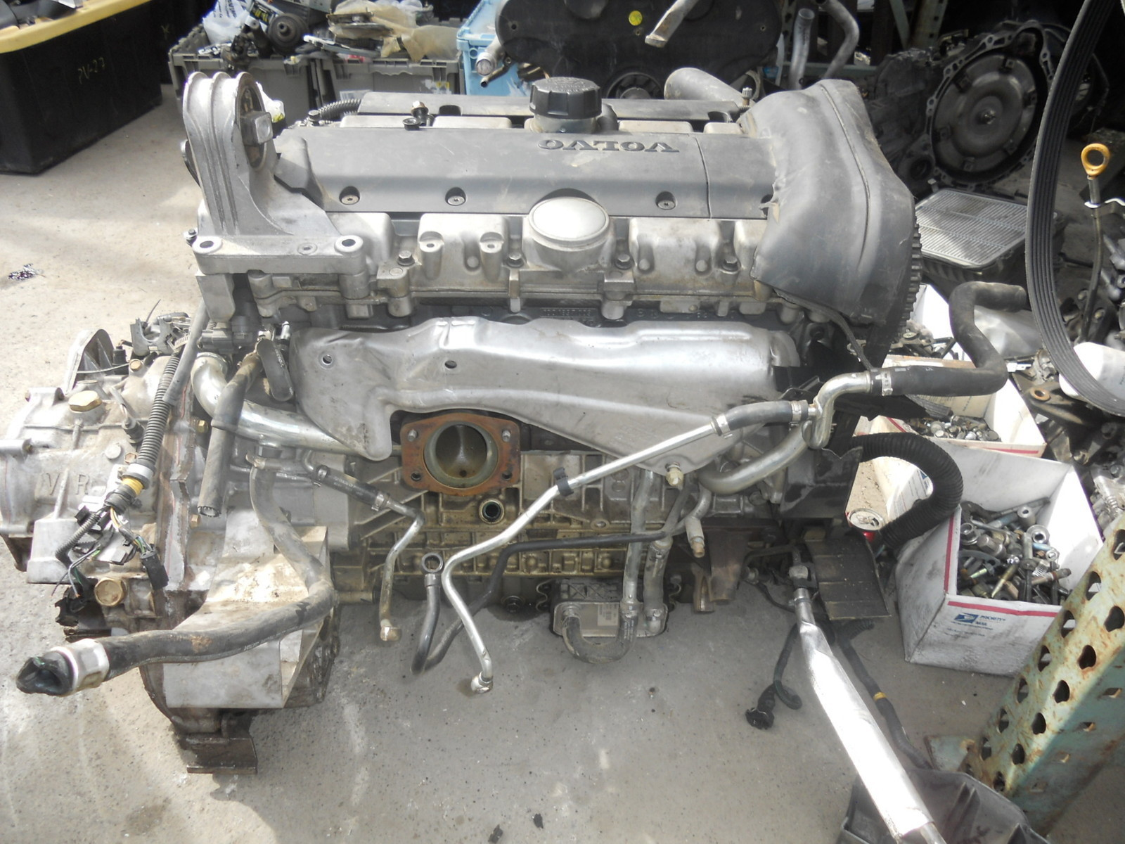Motor Volvo S60 Turbo 2004 2009
